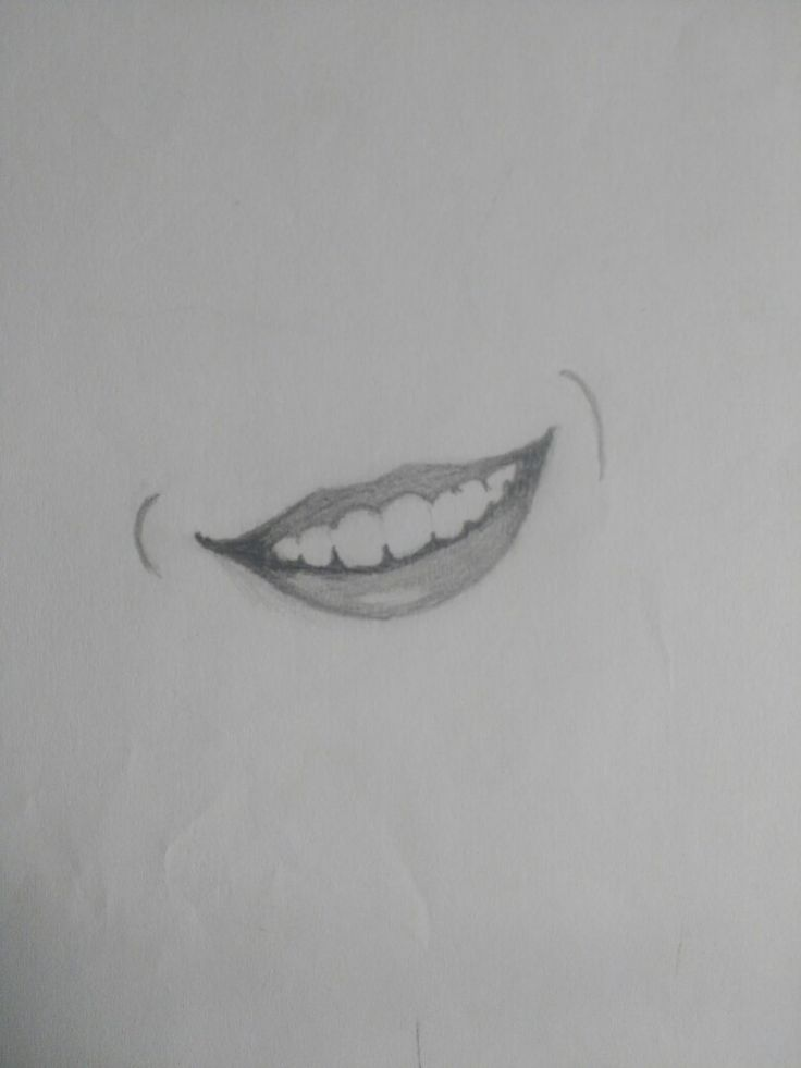 Sonrisas que te encuentras una vez en la vida #Smile #Drawings #Sketch