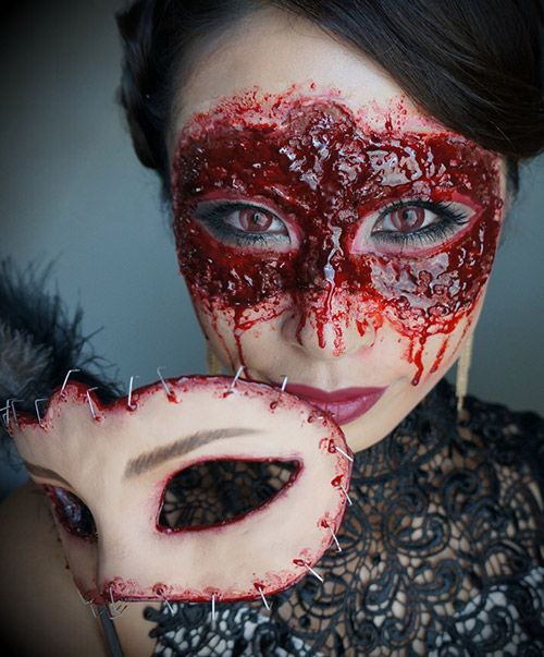 Awesome Halloween Makeup/Dressup