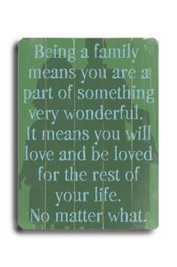 Lisa Weedn  Custom wood signs and vintage wall art: Families Quotes, Remember This, Family Quotes, Life, Inspiration, No Matter What, Truths, So True, Love My Families