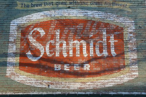 Schmidt Beer - The Brew that grew with the Great Northwest by anglerove, via Flickr