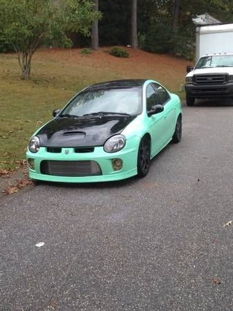 2003 Dodge Neon SRT-4 gawd I love this color