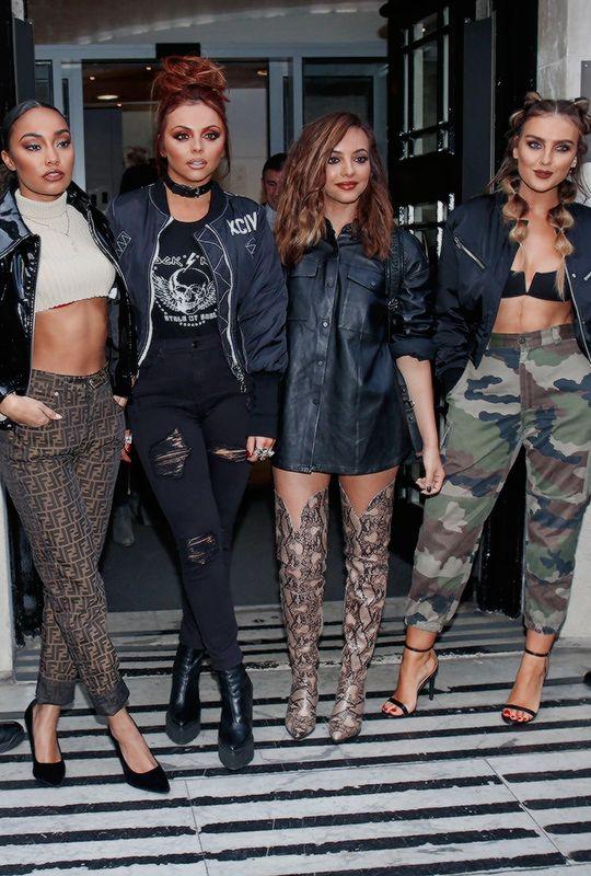 "littelmix: ""November 19th: Little Mix leaving BBC Radio 2 Studios """