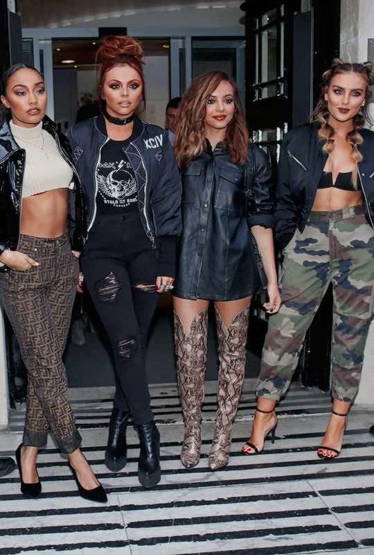 "littelmix: ""November 19th: Little Mix leaving BBC Radio 2 Studios """