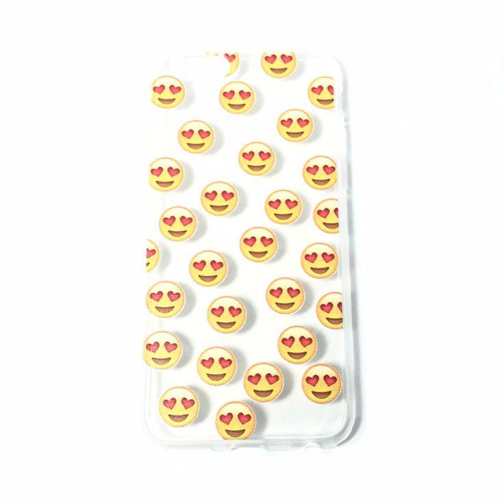 Heart Eye Emoji iPhone Case