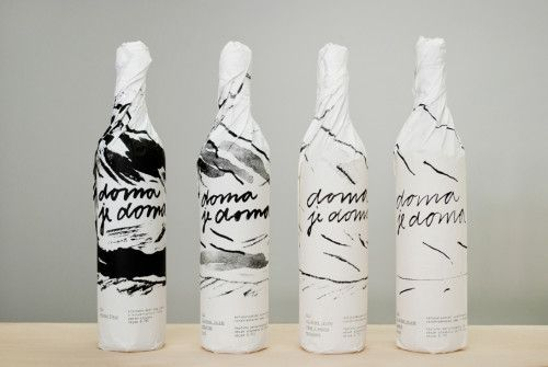 Design and Paper | Home is Home Wine Packaging | http://www.designandpaper.com
