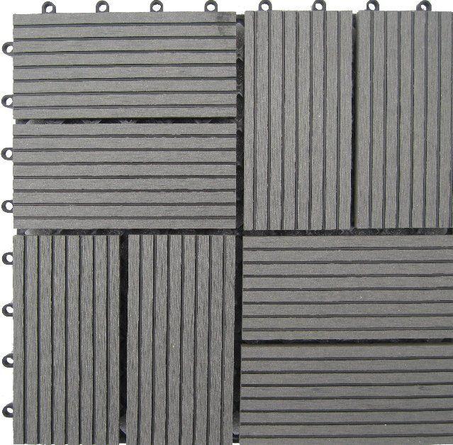 Naturesort Bamboo Composite 12 X 12 Deck Tiles In Grey Reviews Wayfair With Images Deck Tiles