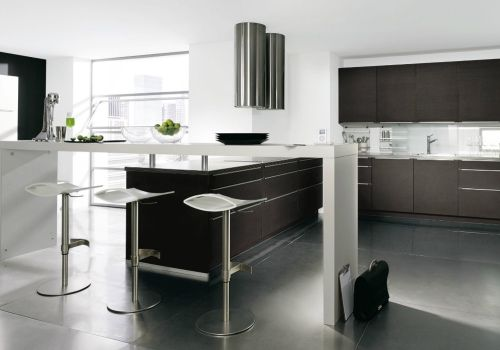 die besten 25 b rok che ideen nur auf pinterest moderne k che k che einrichten und l k chen. Black Bedroom Furniture Sets. Home Design Ideas