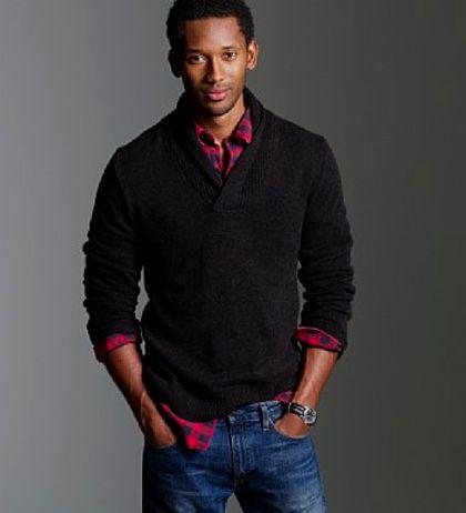 Neat and Nice Sweater Shirt Dress