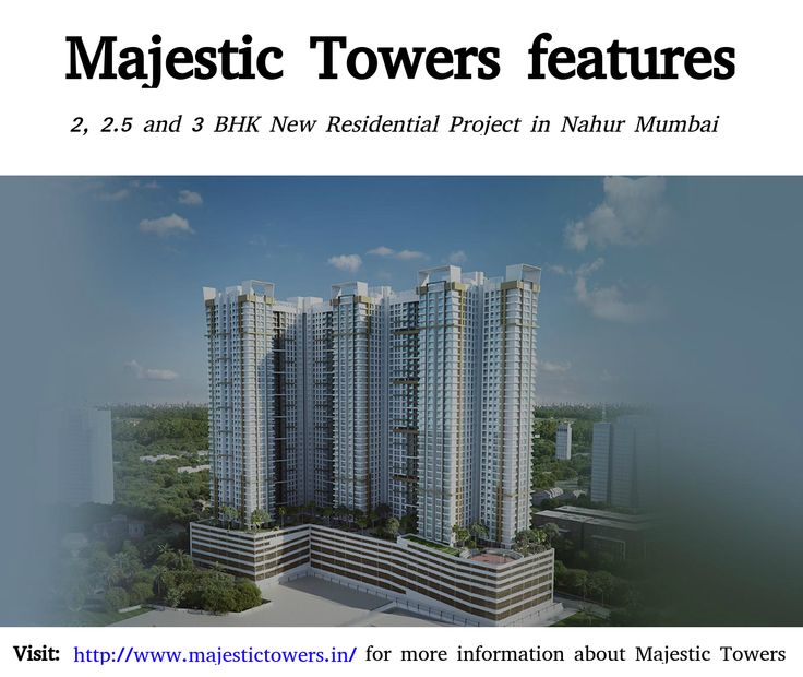 Majestic Towers - New Residential Project in Nahur Mumbai for Sale