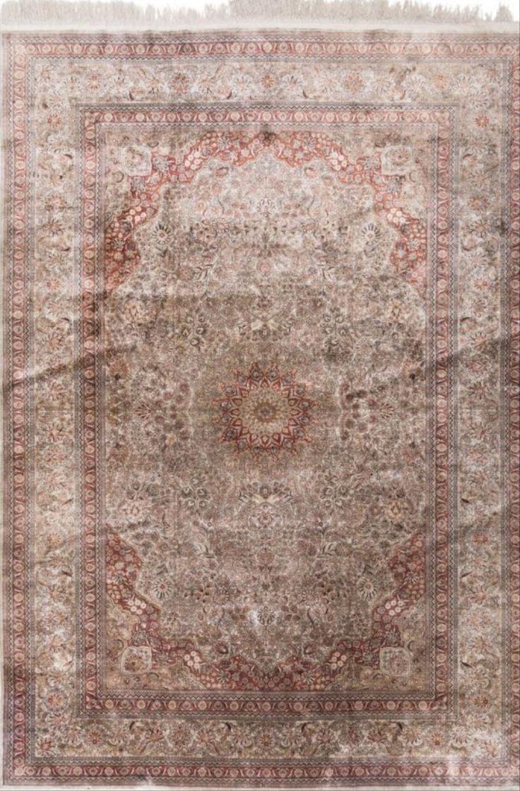 Kayseri Silk Carpet 9 Feet 8 Inches Long X 6 F