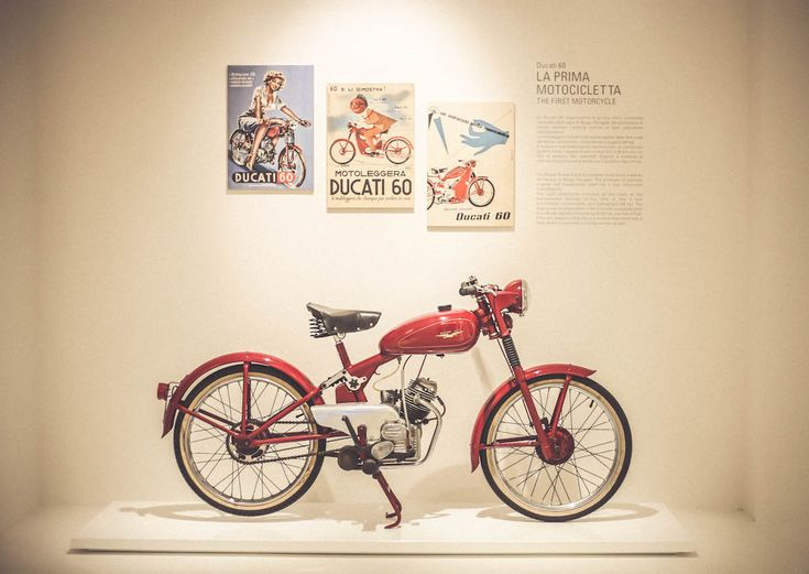 Bologna Museum old motorcycle Ducati 60