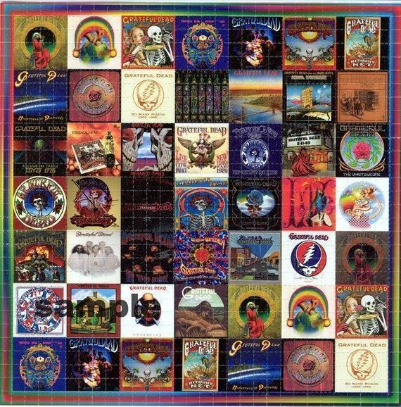 Grateful Dead Albums Steal Your Face American Beauty Shakedown