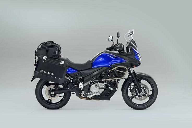 The Suzuki V-Strom 650 Voyager Pack http://suzukibulletin.co.uk/v-strom-voyager-pack-now-available/