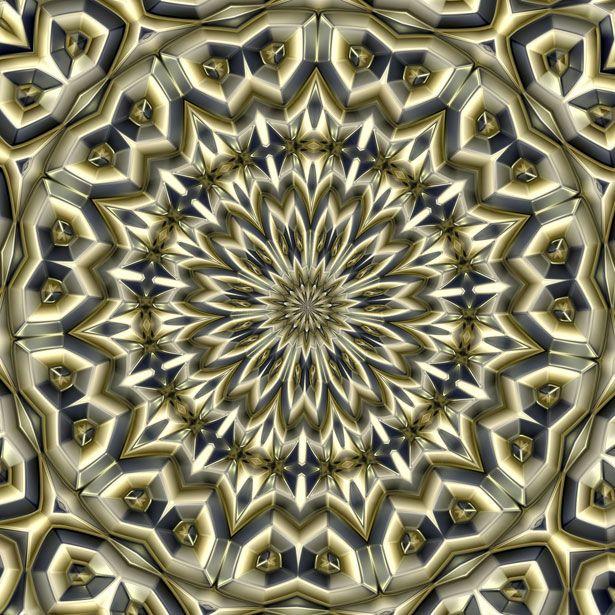 Звезды металлические калейдоскоп Бесплатная фотография - Public Domain Pictures