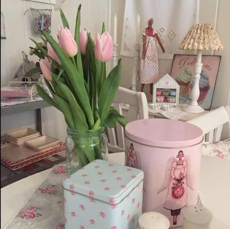 Tulipaner i Norgesglass