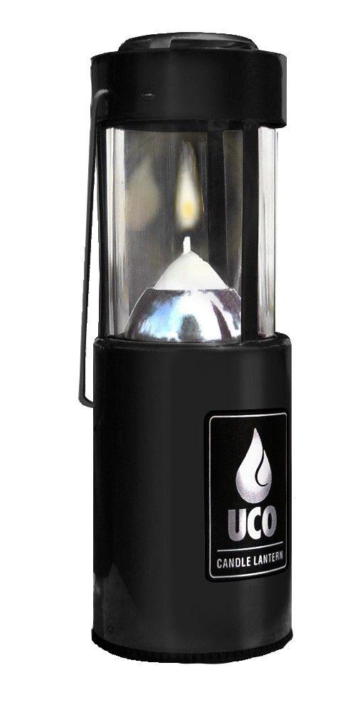 Φανάρι Με Κερί UCO Αλουμινίου Μαύρο | www.lightgear.gr