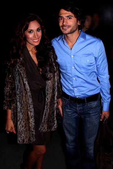The actors who portray Ameera and Syed on Eastenders - on the show, a mismatch for sure! But in real life, they are a couple. Sweet.