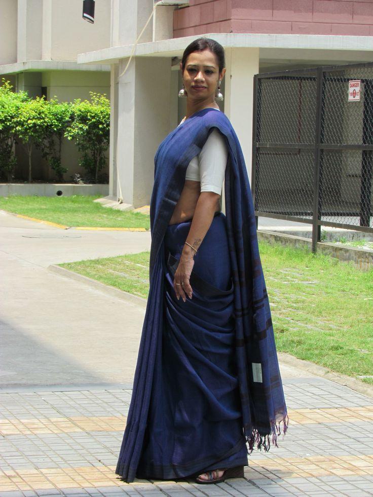 Silk Linen #Saree