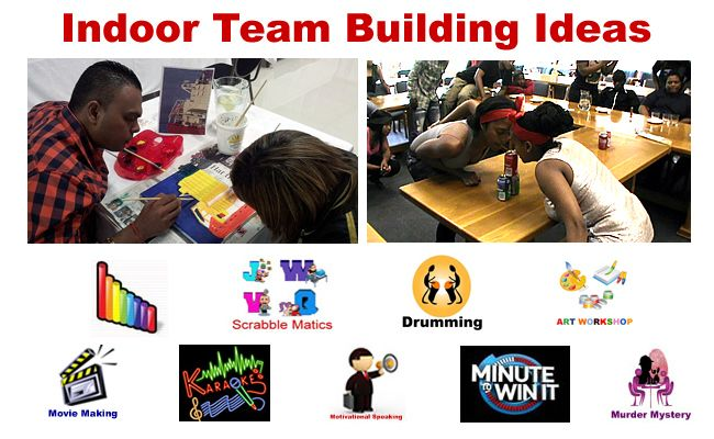 indoor team building games for kids-getting ready for our 'long' rainy season:)