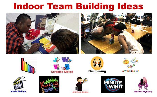 indoor team building games for kids | Indoor Team Building Ideas