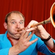 Tim Vine - one liner comedian - 'Conjunctivitis.com - that's a site for sore eyes.'