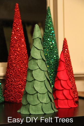 Easy Home Made Christmas Decorations
