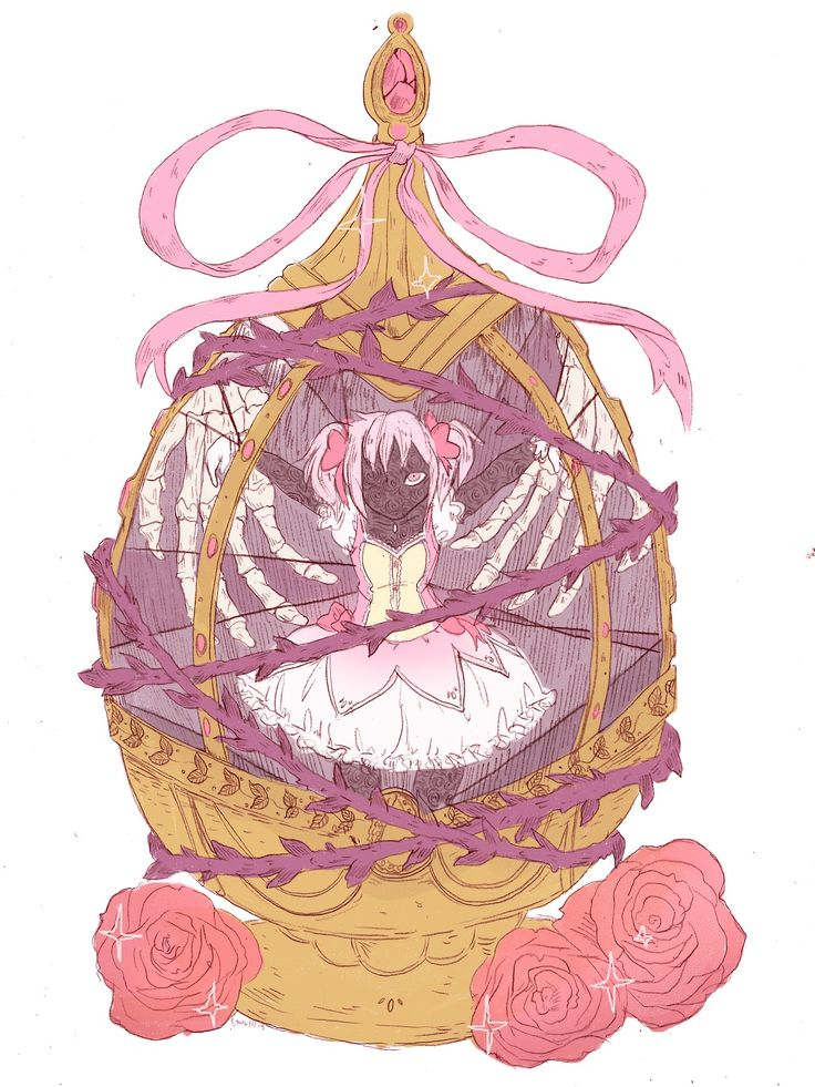 Puella Magi Madoka Magica - Madoka Kaname( if you click on the picture it goes to the artist's blog so you can see these full size)