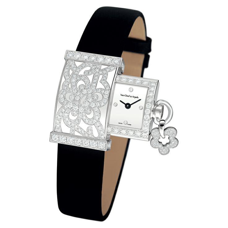 Van Cleef & Arpels Secret Dentelle - ladies watch hidden within a jeweled case