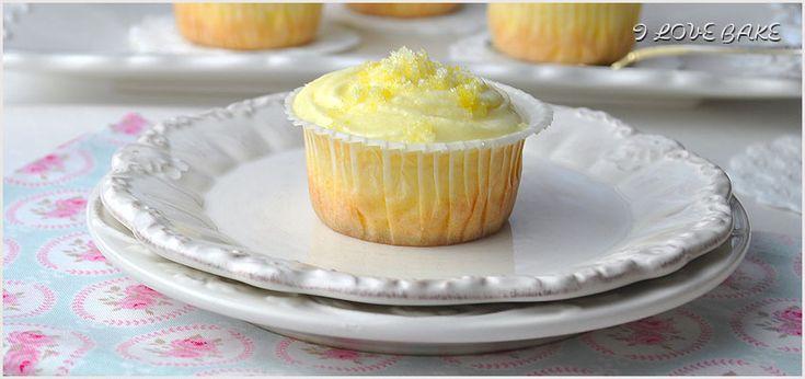 cytrynowe cupcakes