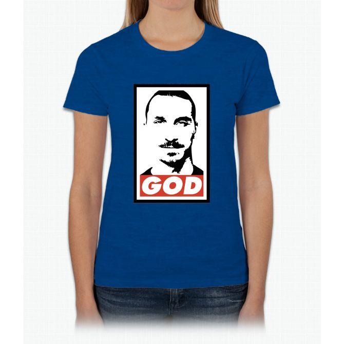 Zlatan God Womens T-Shirt