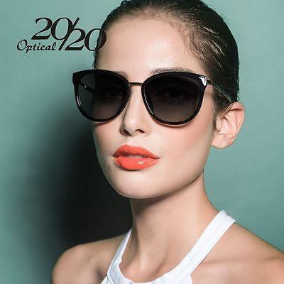 Polarized Designer Cat Eye Sunglasses for Women Vintage Luxury Sunglasses Shades
