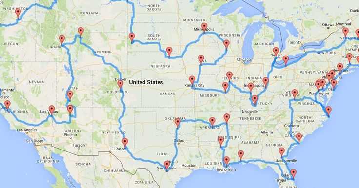 Scientists Have Figured Out The Ultimate United States Road Trip. Here It Is…   Heartti.com