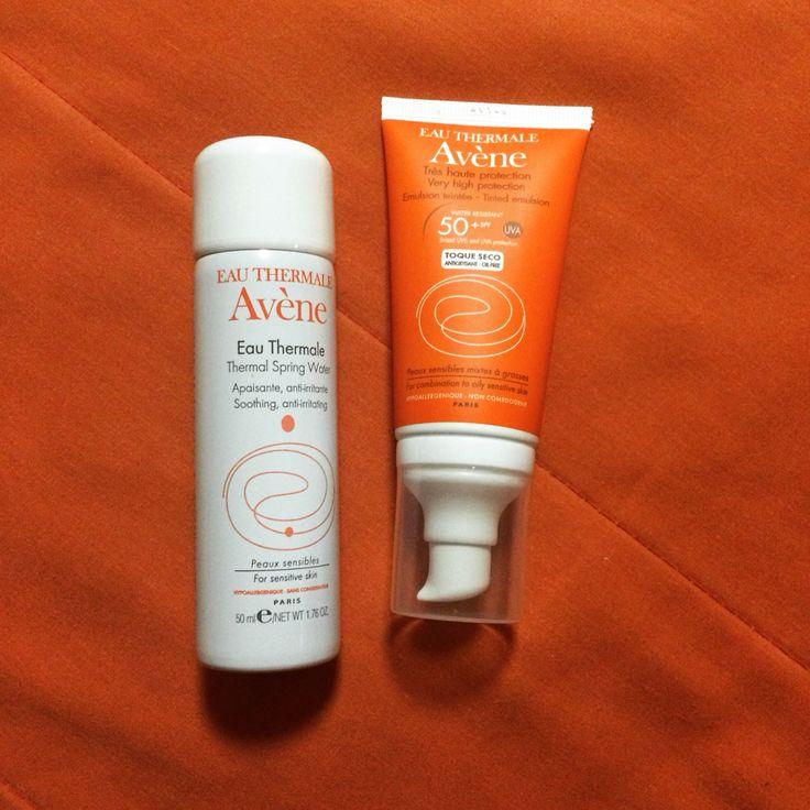 El mejor bloqueador Avene toque seco para piel grasa mixta