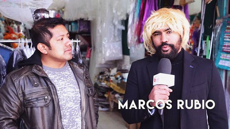 Haters will say my friend Marcos Rubio is not a natural blonde. #HatersGonnaHate #MarcosRubio #ReportingLive #2DeLaTarde #tuvisioncanal
