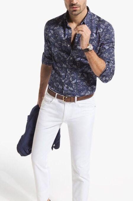 Pasley shirt by Massimo Dutti SS'14