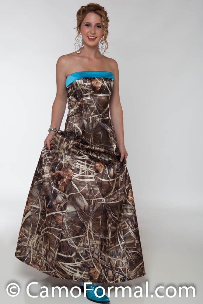 pink camo prom dresses | 3034 Camo Prom or Wedding Dress Camouflage Prom Wedding Homecoming ...