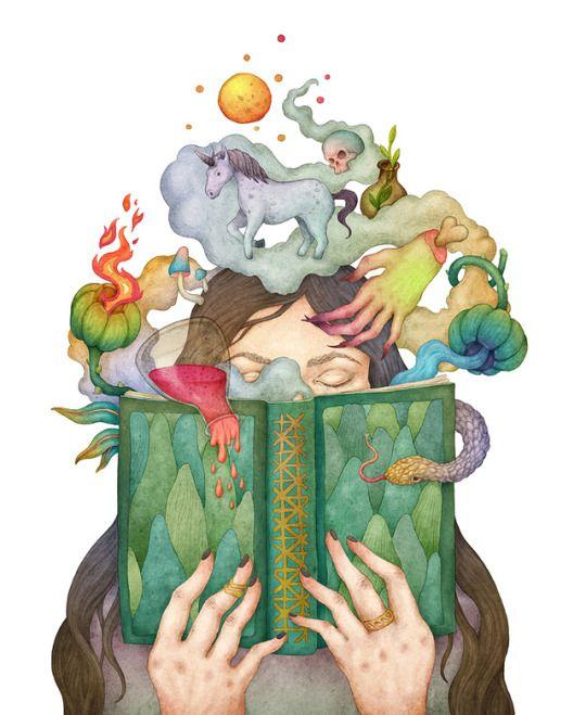 Imagination. Illustration by Olga Svart.