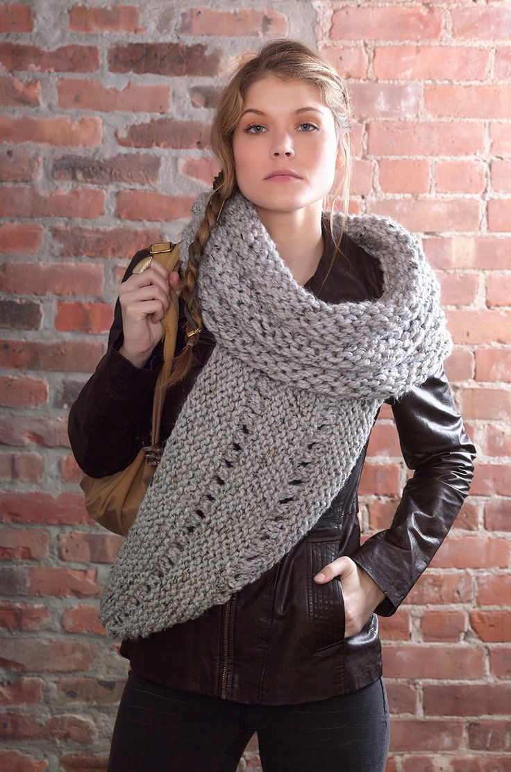 District 12 Cowl Wrap #Free #Knitting #Pattern