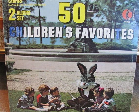 Totally normal. Nothing to see here, folks. Move along, move along. | 17 Weird Vintage Kids' Records You Wish You Could Hear Now