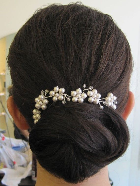 20 off hair vine bride bridesmaid jewelry prom hair by wireandice, $32.00