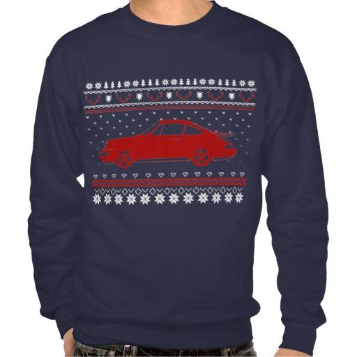 Ugly Christmas German Sports Car Sweatshirt That S