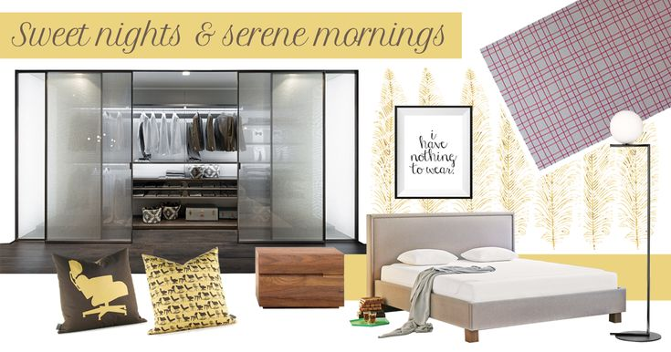 Bedroom decor ideas: a spacious and elegant room | Zalf - Picà Z631 Walk-In Closet |  Zeitraum - Nightstand Night Table | Tempur - Breeze22 mattress | Flos - IC Lights Lamp | Paola Lenti - Galles Rug |
