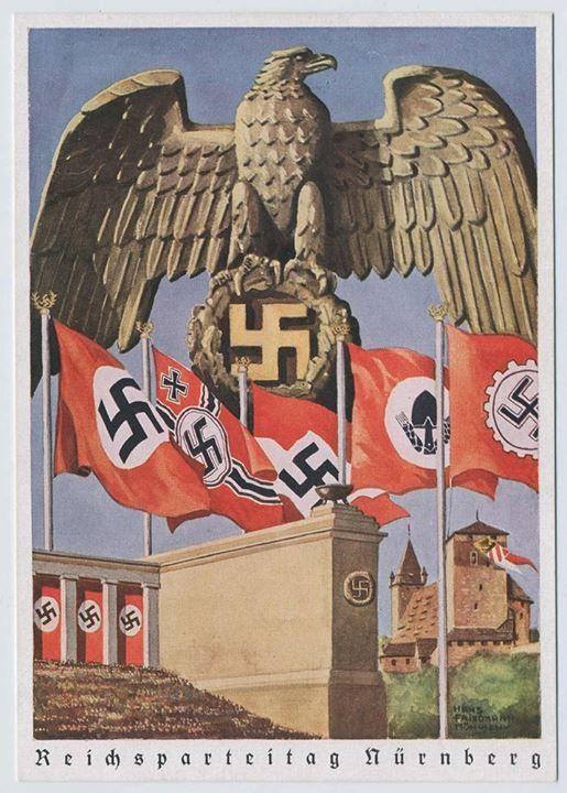 Nuremberg Rally Poster