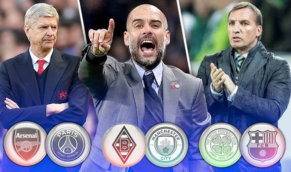 Champions League LIVE: Follow all the build up to Arsenal Man City and Celtic's matches   via Arsenal FC - Latest news gossip and videos http://ift.tt/2ggj4qc  Arsenal FC - Latest news gossip and videos IFTTT