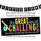 This is an additional file to the original Great Pencil Challenge...    Challenge your students to keep their pencils...for one whole week!    It's eas...