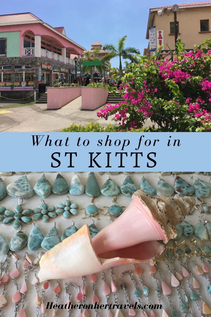 Read about Shopping in St Kitts in the Caribbean
