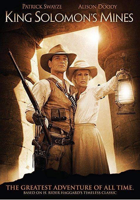 Patrick Swayze & Alison Doody & Steve Boyum-King Solomon's Mines - The Complete Mini-series