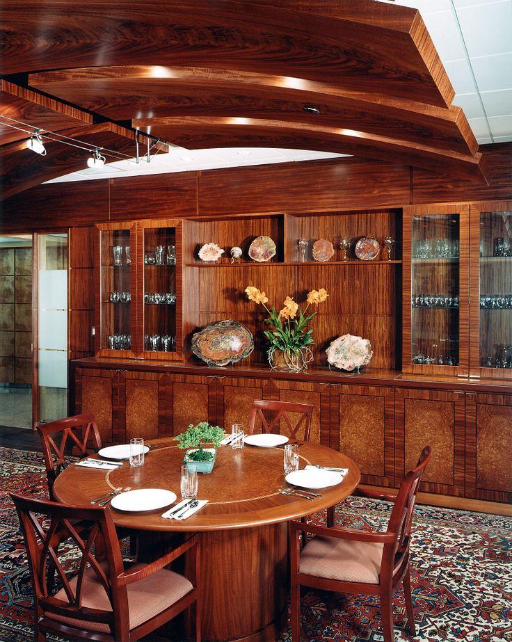 Dining Room #mahogany #mahoganycrotch #amboyna #amboynaburl #veneer #woodveneer #bohlke #brokenstripeveneer