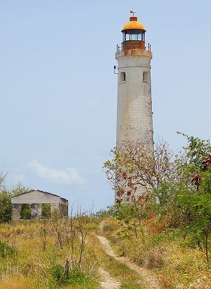 Harrison Point is the youngest of Barbados' four lighthouses.