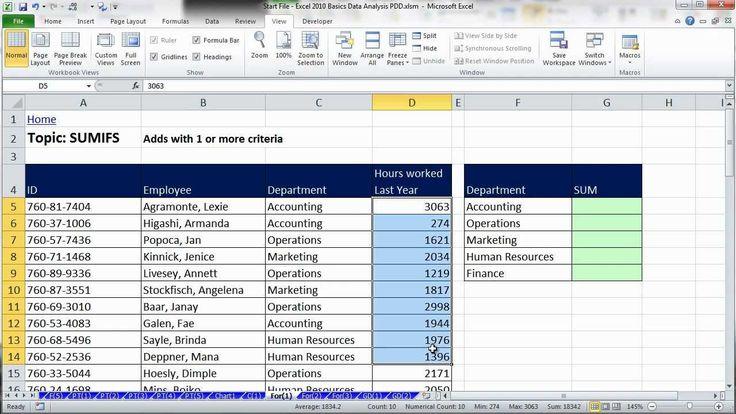 Excel Data Analysis: Sort, Filter, PivotTable, Formulas (25 Examples): #tutorial #excel #dataanalysis